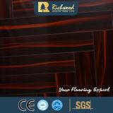 Pavimento laminato resistente dell'acqua del faggio dello specchio E1 dell'annuncio pubblicitario 12.3mm