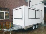 Camión eléctrico móvil para la venta con puerta corredera gabinete