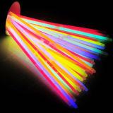 Fuentes tipo del acontecimiento y del partido y pulseras del palillo del resplandor de Glowsticks de la ocasión de la Navidad