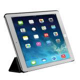 Cassa astuta di cuoio del ridurre in pani con levarsi in piedi per iPad