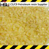 Resina granulare gialla del petrolio C5 per gli adesivi caldi della fusione di EVA