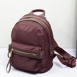 Sacchetti di viaggio dello zaino di Leather&Nylon dell'accumulazione di inverno per le donne Emg4741