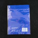 Imprimé personnalisé de haute qualité de copeaux de bois sac à fermeture éclair