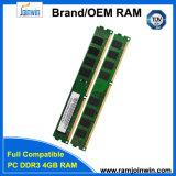 Выдвиженческий дешевый польностью совместимый RAM DDR3 4GB