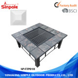 Mobília ao ar livre Multi-Function Grill Fire Pit BBQ Garden Fire Pit