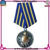 Medaglia del metallo con l'incisione di marchio del cliente 2D-3D