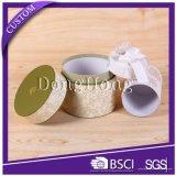 Fördernder eleganter handgemachter dekorativer runder Papierkasten