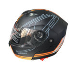 Visor duplo capacete retrátil