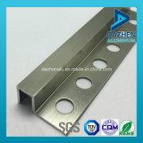 Buena calidad 6063 T5 de aluminio Perfil de aluminio para el azulejo de guarnición de las esquinas