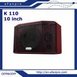 Spreker van de Karaoke van het Systeem van de goede Kwaliteit de Professionele (K 110A)