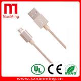 Mikro-USB-Kabel-Aufladeeinheits-aufladendaten-Synchronisierungs-Netzkabel für androides /iPhone