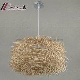 バルコニーのための現代カスタマイズされた鳥の自然な藤吊り下げ式ライト