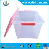 Rectángulo de almacenaje claro del envase de plástico de la manera