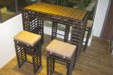 여가 등나무 바 테이블 옥외 가구 131
