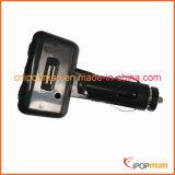 Bluetooth Car Kit manos libres puede adjuntar en el transmisor de FM Sun-visera para Galaxy S4