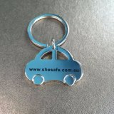 Изготовленный на заказ Keyring формы автомобиля логоса для рекламировать