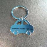 Kundenspezifischer fördernder Firmenzeichen-Auto-Form-Schlüsselring-Großverkauf