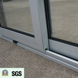 Ventana de desplazamiento de aluminio de la rotura termal revestida del polvo de la buena calidad K01065