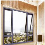 アルミニウム曇らされたガラスの浴室のWindowsの上のハングさせた家のWindows映像