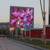 Écran polychrome extérieur de l'Afficheur LED P10 de la publicité