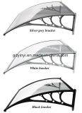 De openlucht Duurzame Luifel van de Airconditioning van het Polycarbonaat DIY (yy800-B)