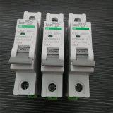 1 Disjuntor Miniatura CC ou DC polarizada disjuntor com certificados TUV entre 1A e 63A