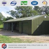 Sinoacmeの多機能のプレハブの鉄骨構造の建物