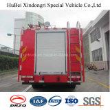 3ton Euro 4 van de Vrachtwagen van de Brand van de Tank van het Water van Dongfeng