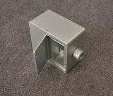 Aluminiumlegierung CNC-maschinell bearbeitenteile mit der silbernen Anodisierung, Zoll bilden