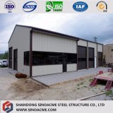 Äthiopien-Zwischenlage-Panel-vorfabriziertstahlkonstruktion-Lager-Gebäude