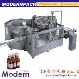 Línea de la presión de la tríada/vidrio de relleno de la máquina de rellenar de la cerveza