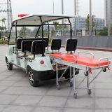 Carrinhos de golfe de tamanho pequeno Carro de ambulância elétrica de emergência (DVJH-1)