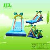 L'estate calda di vendita mette in mostra la trasparenza di acqua gonfiabile lunga del gioco con gli archi affinchè i capretti goda della festa di Sunshining