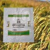 sac à riz de blé des graines 50kgs tissé par polypropylène