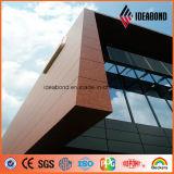 Ideabondの建築構造の物質的なカラーによって塗られるアルミニウムコイル
