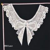 Stile a foglie rampanti impiegatizio rotondo dell'annata del collare del Crochet del merletto delle signore e del collare del collare staccabile dei polsini