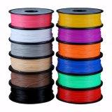 Filament d'impression de la fibre 3D de carbone de PLA 1.75mm pour l'imprimante 3D