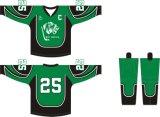 Healong las principales marcas de ropa deportiva sublimación personalizado Camiseta de Hockey sobre Hielo