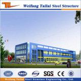 Structure en acier préfabriqués Galvnaized Chambre bâtiment avec atelier