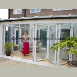 Acordeão de boa qualidade Bi-Folding Porta de vidro