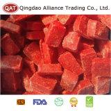 Tablette rouge gelée de purée de /poivron