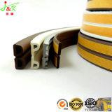 Entalhe-Tipo tira do selo do PVC para a porta de madeira
