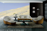 Sofá moderno do couro da sala de visitas (SBL-9007)