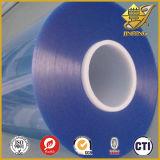 파란 담채를 가진 PVC 투명한 필름