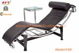 Самомоднейший эргономический кожаный стул Recliner салона отдыха гостиницы (F4D)
