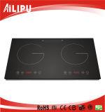 2 cocina de la inducción eléctrica de las hornillas 3400W