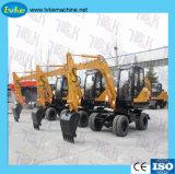 Escavatore di fabbricazione 6.5tons del cinese piccolo da vendere