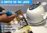 Cer-Zustimmung Nd YAG Laser-Tätowierung-Abbau-Laser-Schönheits-Maschine