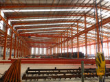 Almacén ligero de la estructura de acero para el mercado de África (KXD-SSB61)