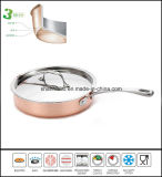 Padella di rame del Cookware 3ply